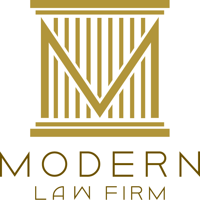 Modern Law Firm - Online scheduling  Modern Law Firm Logos
